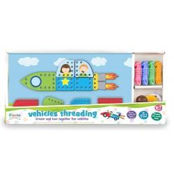 Toy - Threading Activity Toy - Vehicles