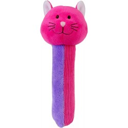 Toys - Soft Toys - Squeakaboos - Pink Cat