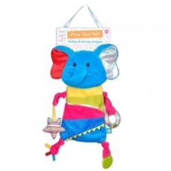 Toy - Blankie - Giraffe or Elephant  - 1 supplied