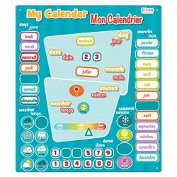 Toy - Bilingual FR-EN Calendar