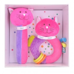 Toy - Gift - Squeakaboo and Ringaling - Cat or Dog