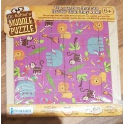 Toy - Dr Baffer's  Muddle Puzzle - Jungle - 22pc