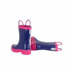 Boots - Hatley  - Welly Boots - Purple & Pink - shoe 10, 12, 13 - sale