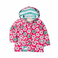 Raincoat - Hatley GRAPHIC DAISIES - size/ age 12-18m
