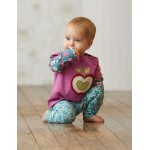 Top - Hatley Baby - Orchard apples in SALE 3-6m