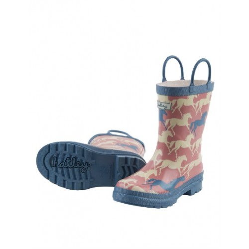 Boots - Hatley - Welly Boots -  Baby Show horses CLEARANCE SALE - LEFT - baby - shoe 5  sale