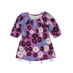 Top - Hatley Girls - Tunic, tassled with poppies in SALE   4, 6y (lovely but comes up small , blouse  material)