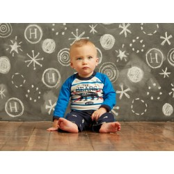 Set - Hatley Baby boys- body + trousers - Polar bears  SALE 12-18m - last one