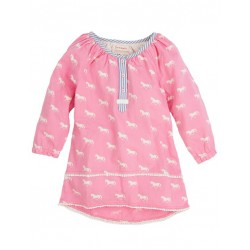 Top - Hatley Girls Pom Pom Tunic - Running Horses in SALE 2y left  (ideal for 1yr since this is lovely but not strechy)