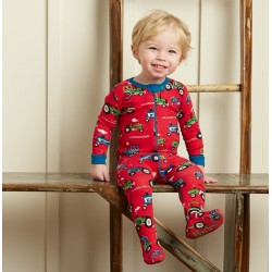 Babygrow - Hatley Farm tractors in SALE - 0-3m last one