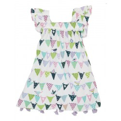 Dress - Hatley Bunting Birds  Flutter Sleeve -  2y and 6y (2x) left
