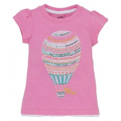 Top - Hatley Girls Hot Air Baloons in 4, 5y