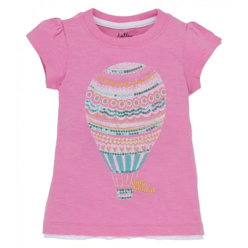 Top - Hatley  - Girls Hot Air Baloons in 4, 5y - sale