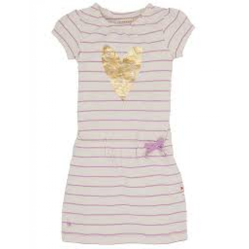 Dress - Hatley Metallic heart -  2, 3,  6, y