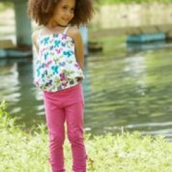 Leggings -  Hatley Rebel Pink 2, 3, 4, 6, 7, 8y - sale
