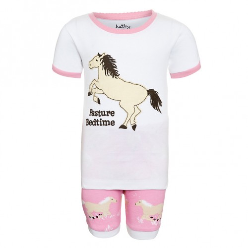PJ -  Hatley - Girls summer/short Pasture Bedtime Horse - SALE 2, 4, 5