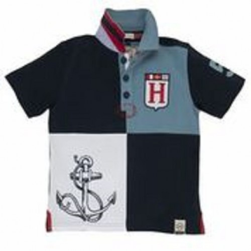 Top -  Hatley Boys - Anchor Rugby Shirt -  SALE 6y