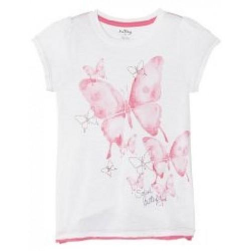 Top - Hatley Girls Ditsy Butterflies Graphic 3, 6y