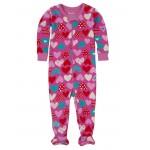 Babygrow - Hatley Crazy Hearts - 3-6, 6-12, 12-18, 18-24m - sale