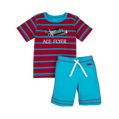 Set - Hatley - Boys top and Shorts - 2pc - Fighter Planes - last one - 6y - sale