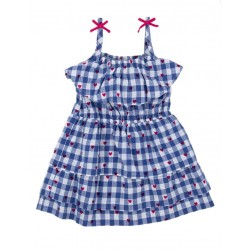 Dress - HATLEY Hearts Lady Bug Garden in SALE 4, 6, 7, 8y