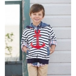 Trousers - HATLEY Boys  roll up - Retro nautical in SALE 5, 6, 7, 8y