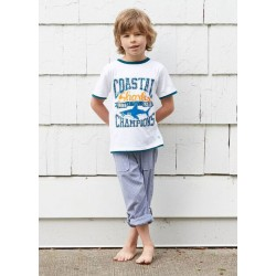 Trousers - HATLEY Boys Roll Up Beach Pants – Fishing Charter in SALE -  8y