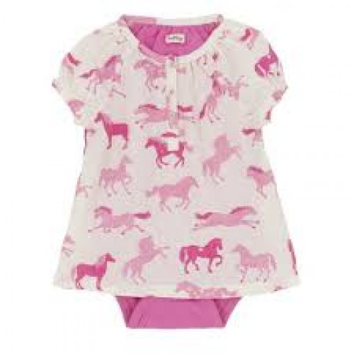 Top - Hatley Baby - Heart & Horses in SALE 6-12m
