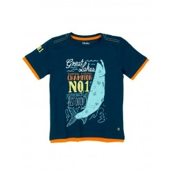Top - Hatley Boys - Fishing Charter Champion - in SALE - 5, 6, 8y