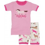 PJ - Hatley Girls summer/short -Hearts and Horses  in sale 2y