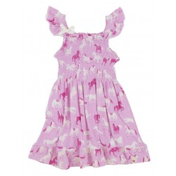 Dress - Hatley Girls - Hearts and Horses in SALE 2, 3, 4y
