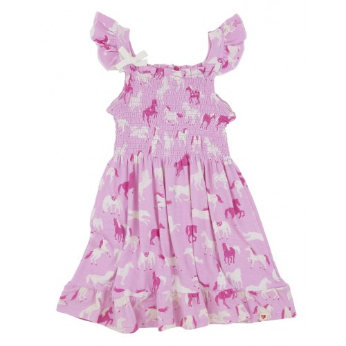 Dress - Hatley -   Girls - Hearts and Horses in SALE 3, 4y