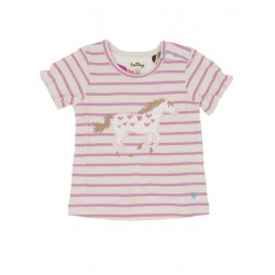 Top - Hatley Baby Hearts and Horses in SALE 0-3m