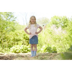 Top - Hatley Girls Heart and Horses SALE 2, 7 y