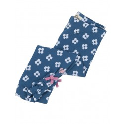 Leggings - Hatley Ditsy Flowers Blue Ruched 3-6,  6-12 m