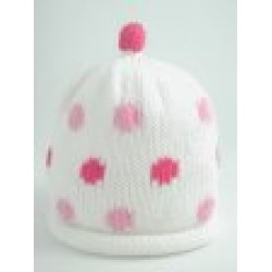 Hat - Merry Berries - Girls Candy Spots - 0-3, 3-6m - sale