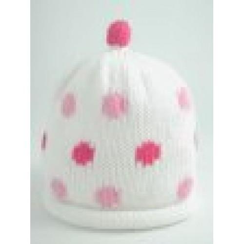 Hat - Girls Candy Spots 0-3, 3-6, 6-12m sale