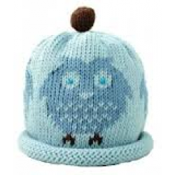Hat - Blue Owl - 3-6, 6-12m sale