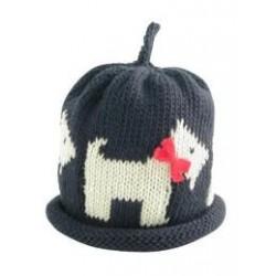 Hat - Merry Berries - Scotie dog -  6-12 sale