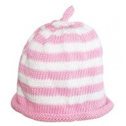 Hat - Cream candy spot - 0-3m sale