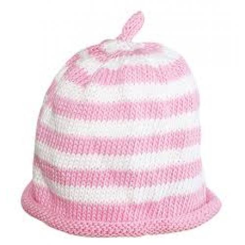 Hat - Cream candy spot - 0-3m sale