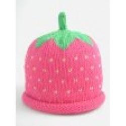 Hat - Summer Raspberry 0-3, 3-6m sale