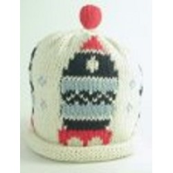 Hat - Rocket on cream 0-3, 3-6, 6-12m sale