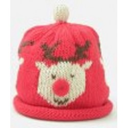 Hat - Red Rudolph 0-3, 3-6m sale