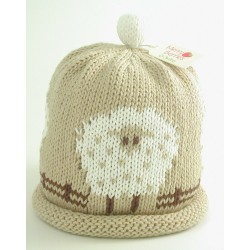 Hat - Sheep 0-3, 6-12m sale