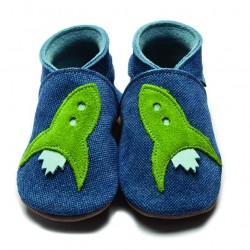 Shoes - Clearance  - Rocket in Denim 0-6m