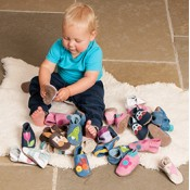 BABY SHOES - soft leather or moccasins - sale promotion ends soon (85)