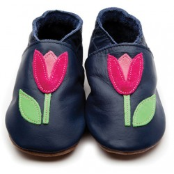 Shoes - Clearance - Navy Tulip - NAVY - 12-18m