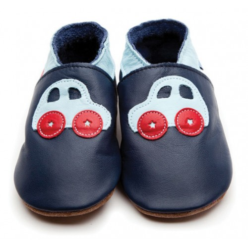Shoes - Car navy baby blue Large - 0-6, 6-12m- in SALE