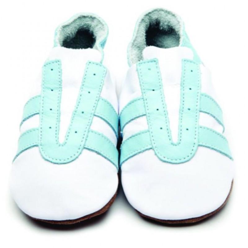 Shoe Trainer White Baby blue 12 18m sale